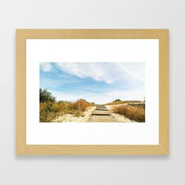 Curonian spit Framed Art Print