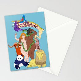 Eve and Eve Stationery Cards
