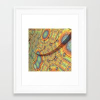 scales Framed Art Prints featuring Scales by Lyle Hatch