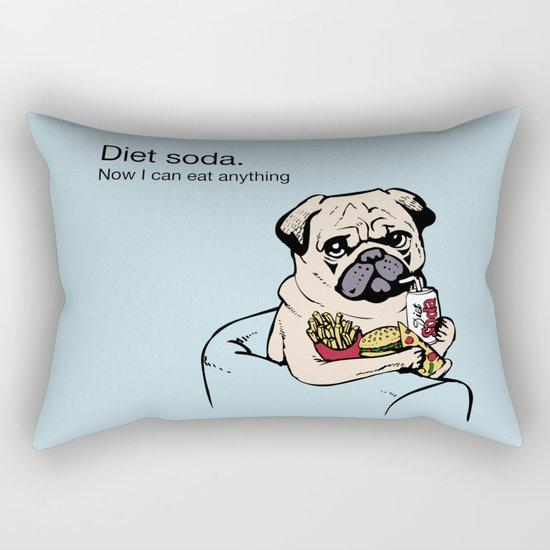 Diet Soda Rectangular Pillow