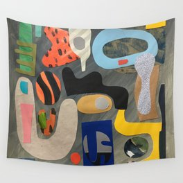 Hand Mirror Wall Tapestry