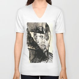 dis comp 6 ( 4 Civil War Generals) Unisex V-Neck