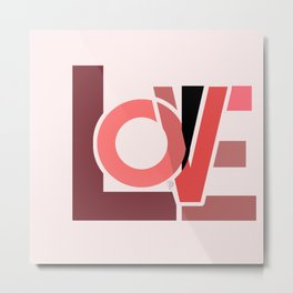It's all about love Metal Print