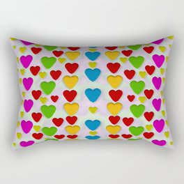 So sweet and hearty as love can be Rectangular Pillow