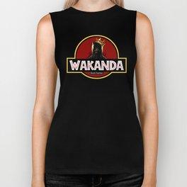 wakanda black panther Biker Tank