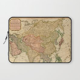 Map of Asia by Robert Laurie and James Whittle (1799) Laptop Sleeve