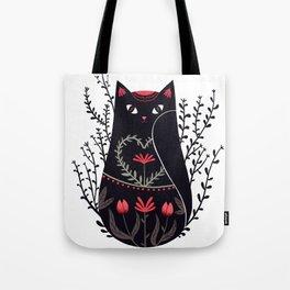 Russian kitty Tote Bag