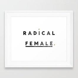 Radical Female Framed Art Print