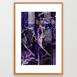 Everybody will die, but very few people want to be reminded of that fact. Framed Art Print