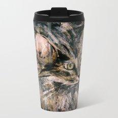 Norwegian Forest Cat Metal Travel Mug