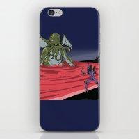 neon genesis evangelion iPhone & iPod Skins featuring Neon Genesis Elder God: End of EVA by CaptainSunshine