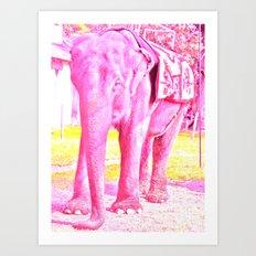 Elephantayy Art Print