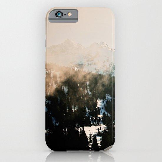 Winter Mountain Hike iPhone & iPod Case
