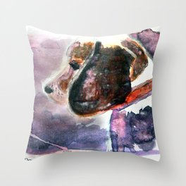 The Beaglenut Throw Pillow