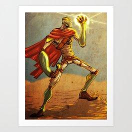 The Desert Man Art Print