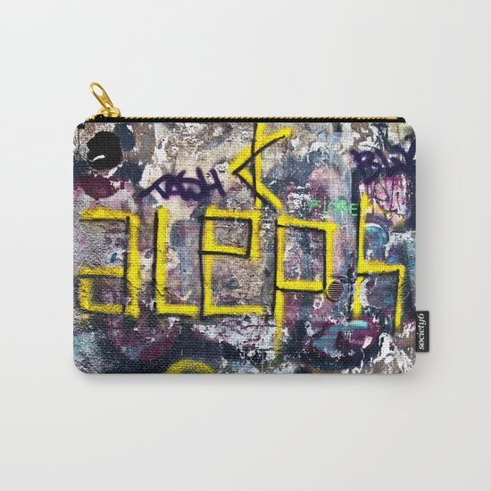 Sicilian Facade with Graffiti Carry-All Pouch