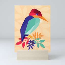 Low Poly Bird Mini Art Print