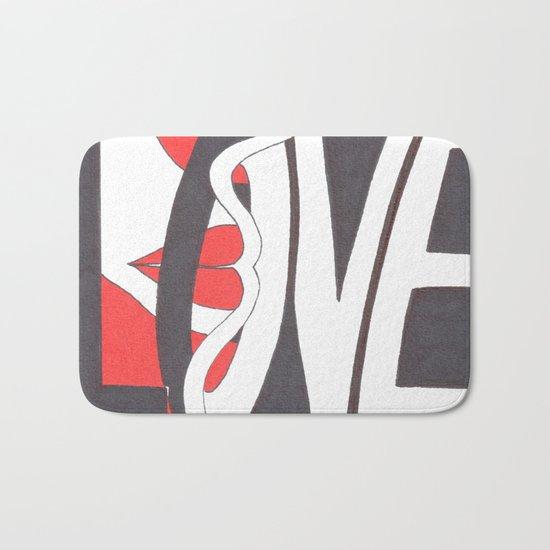 Love Lips Bath Mat