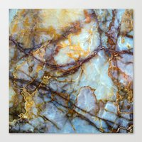 samsung Canvas Prints featuring Marble by Patterns and Textures