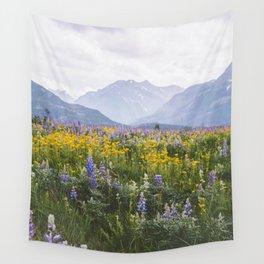 Waterton Wildflowers Wall Tapestry