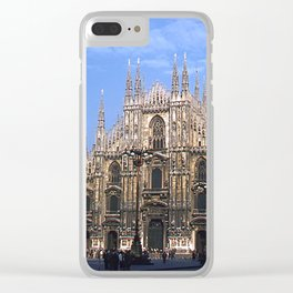 Vintage 1940's Color Photo Duomo di Milano Clear iPhone Case