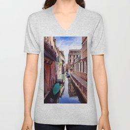 Get Lost In Venice Unisex V-Neck