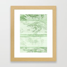 Abstract jungle landscape Framed Art Print