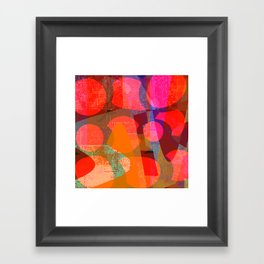 smash up Framed Art Print