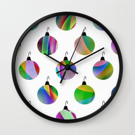 Christmas Tree Decoration Wall Clock