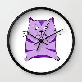 Fraidy Cat Wall Clock