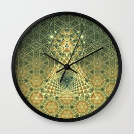 Lifeforms   Ancient geometry Wall Clock