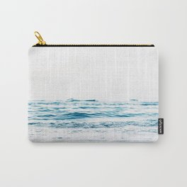 ocean waves, printable photography, coastal print, colorful photo, beach waves, beautiful beach, oce Carry-All Pouch