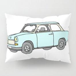Trabant or Trabi. Car of GDR Pillow Sham