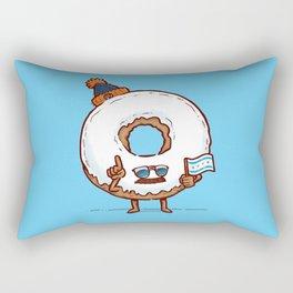 The Chicago Donut Rectangular Pillow