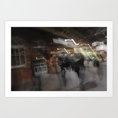 Means Of Motion. Art Print