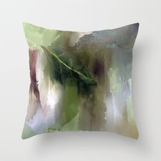 Greensleeves Throw Pillow
