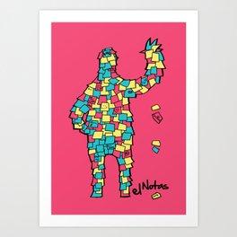 EL NOTAS Art Print