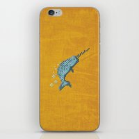 narwhal iPhone & iPod Skins featuring Narwhal by Tamm + Kit