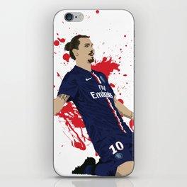 Zlatan Ibrahimovic - Paris SG iPhone Skin
