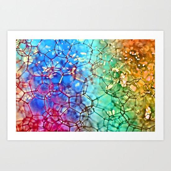 Connections 2 (color version 2) Art Print