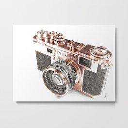 Nikon S2 Metal Print