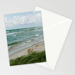 Windy Day on Lake Michigan Stationery Cards