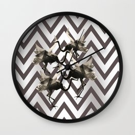 Mystic wardance Wall Clock