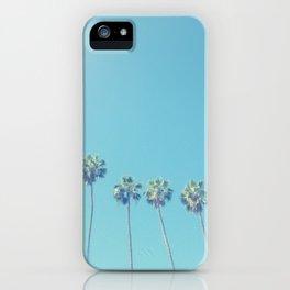 Blue Paradise iPhone Case