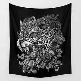 Jaguar Warrior Wall Tapestry