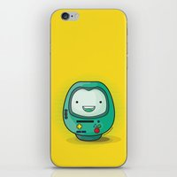 bmo iPhone & iPod Skins featuring Daruma: BMO by Monstruonauta