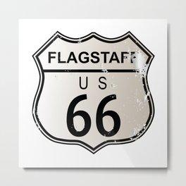 Flagstaff Route 66 Metal Print