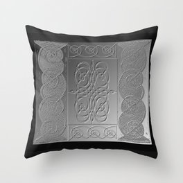 Bas Relief Knot Throw Pillow
