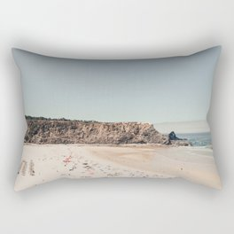 Beach Summer Love (two) Rectangular Pillow