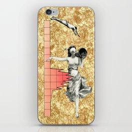 Take The  Leap iPhone Skin